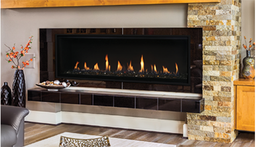 Fireplaces Gas Fireplaces Superior 60 Direct Vent Fireplace