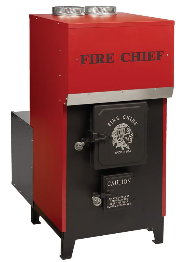 fire chief epa certified fc1700 forced air wood furnace